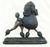 Standard Poodle Gaiting (in bronze patina) 14.5