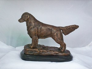 "Golden Retriever On Hill 3.75""W x 7""L x 6"" H"