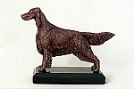 Irish Setter Standing on marble base (5.25