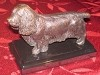 Sussex Spaniel Standing on Marble Base (3.5